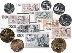Кросс курс евро чешская крона